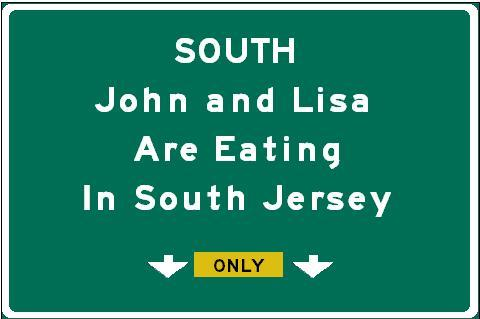 Eating in South Jersey Blog