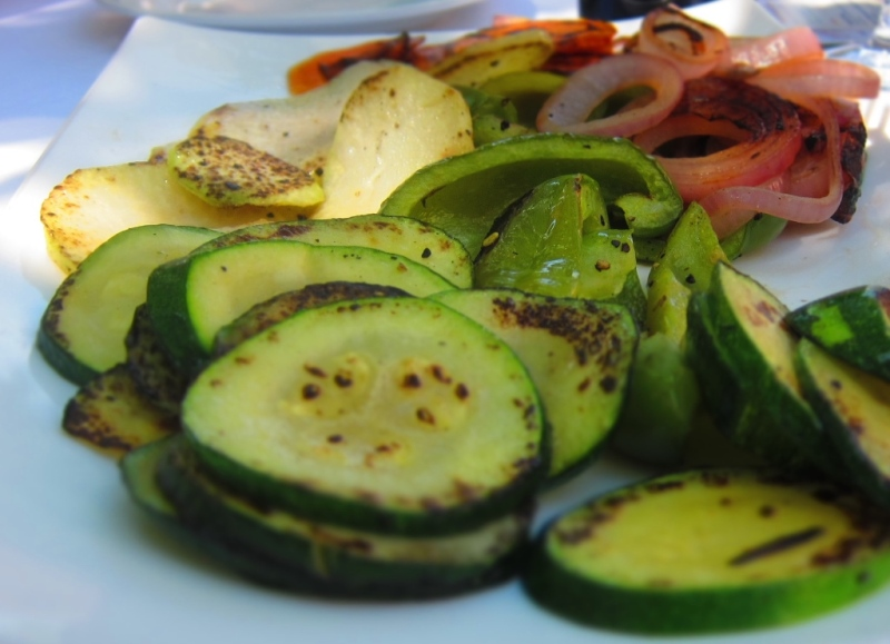 Grilled veggies from Chef Nunzio